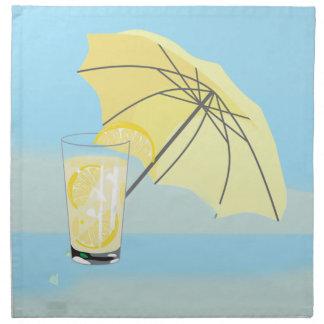 Sweet Beach House Lemonade Napkin