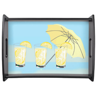 Sweet Beach House Lemonade Serving Tray