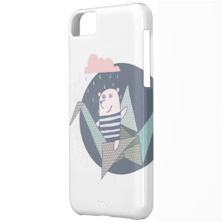 Sweet bear origami iPhone 5C case