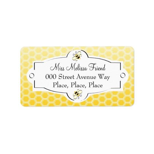 Sweet Bee Address Label