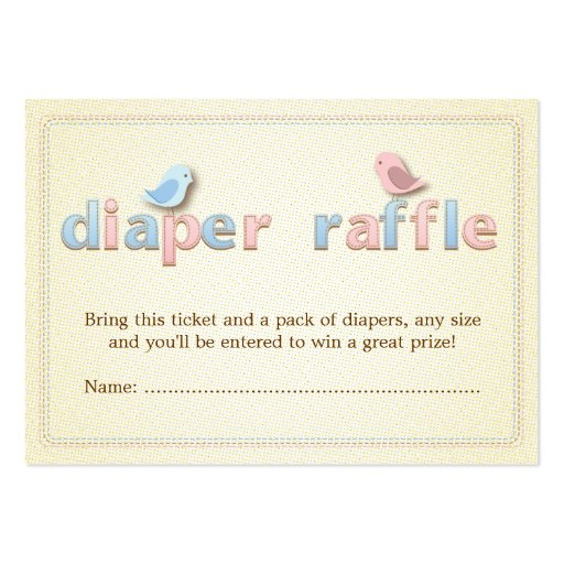 Free Black And White Diaper Raffle Template | Search Results ...