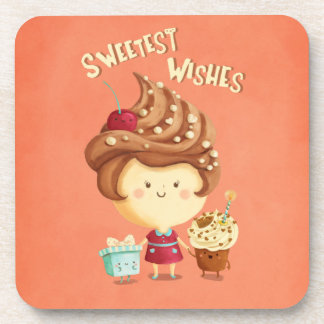 Sweet Birthday Girl Drink Coasters