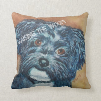 SWEET BLACK HAVANESE | TOSS PILLOW