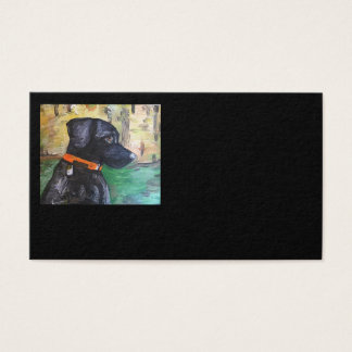 Sweet Black Lab Business Cards