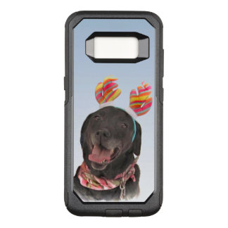 Sweet Black Labrador Retriever Dog OtterBox Commuter Samsung Galaxy S8 Case