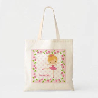 Sweet Blonde Ballerina Tote Bag