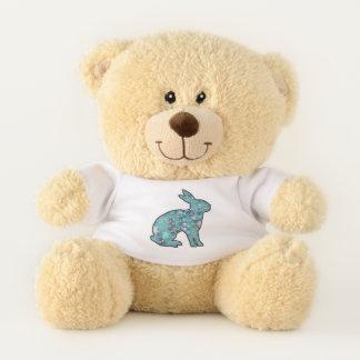 Sweet Blue Bunny Teddy Bear