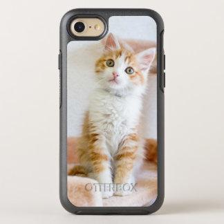Sweet Blue Eyed Kitty OtterBox Symmetry iPhone 7 Case
