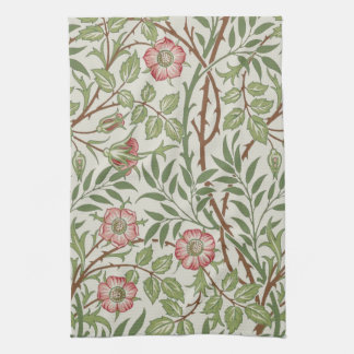 Sweet Briar by William Morris Tea Towel