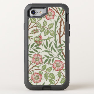 Sweet Briar Vintage Floral by William Morris OtterBox Defender iPhone 8/7 Case