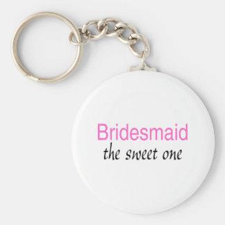 Sweet Bridesmaid Keychain