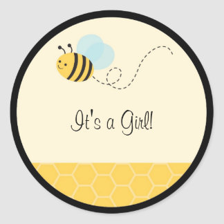Sweet Bumble Bee Stickers Envelope Seals