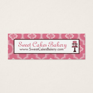 Sweet Cake Skinny Business Card