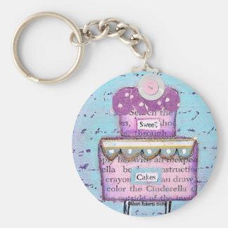 Sweet Cakes Keychain