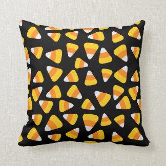 Sweet Candy Corn Halloween Cushion