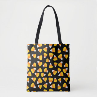 Sweet Candy Corn Halloween Tote Bag