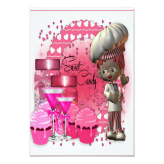 Sweet Candy Invitation