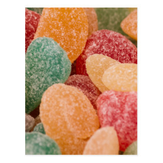 sweet candy postcard