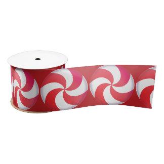 Sweet Candy Swirl Ribbon Satin Ribbon