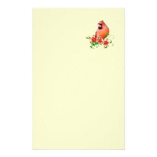 Sweet Cardinal Stationery