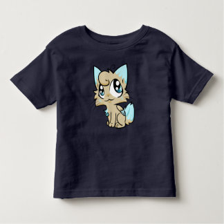 Sweet cartoon cat art toddler T-Shirt