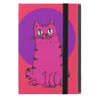 sweet cat sitting funny cartoon covers for iPad mini