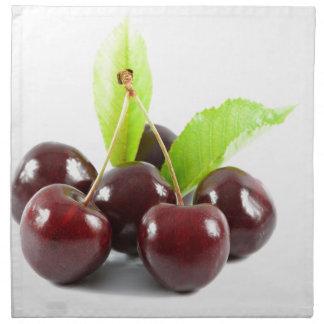 sweet-cherries napkin