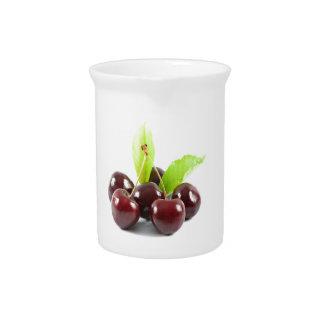 sweet-cherries pitcher