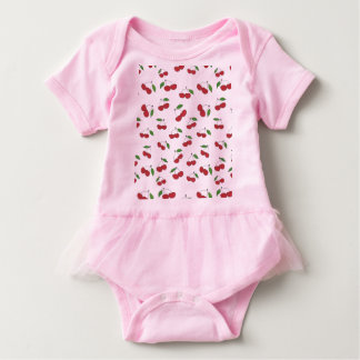 Sweet Cherry Baby Tutu Baby Bodysuit