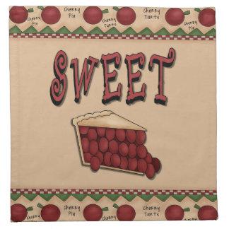 Sweet Cherry Pie Napkins