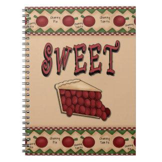 Sweet Cherry Pie Notebooks