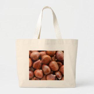Sweet chestnuts jumbo tote bag