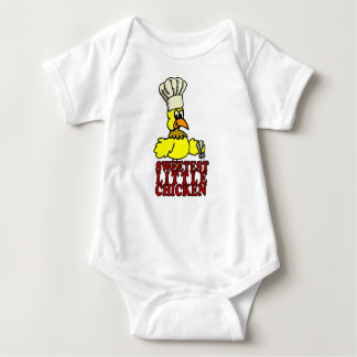Sweet Chicken BBQ Baby Baby Bodysuit