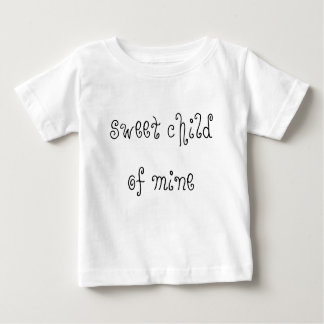 sweet child of mine baby tee
