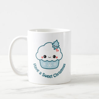 Sweet Christmas Cupcake Coffee Mug