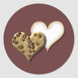 Sweet Cookie Love Classic Round Sticker