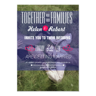 Sweet Couple Laying Grass 13 Cm X 18 Cm Invitation Card