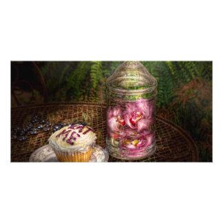 Sweet - Cupcake - Eat Me Customised Photo Card
