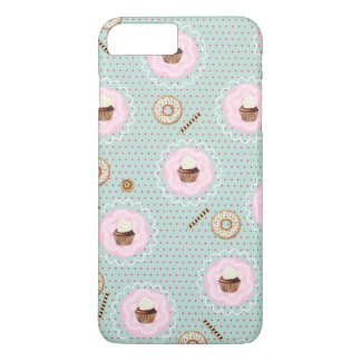 Sweet Cupcakes and Donuts iPhone 7 Plus Case