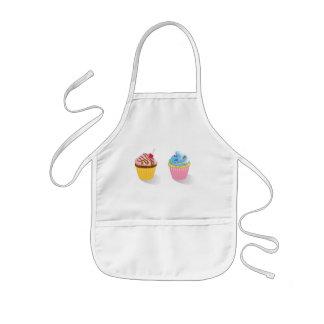 sweet cupcakes kids apron