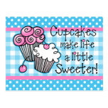 Sweet Cupcakes Postcards