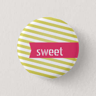 Sweet customizable flair 3 cm round badge