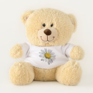 Sweet Daisy Flower Teddy Bear