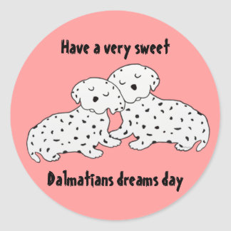 Sweet Dalmation Stickers