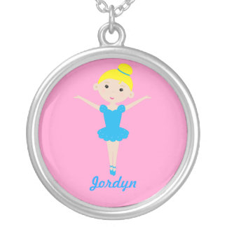 Sweet Dancing Ballerina Necklace