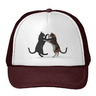 Sweet Dancing Cats Trucker Hat