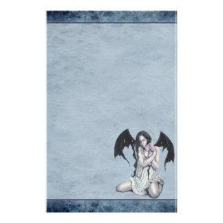 Sweet Demon Stationary Custom Stationery