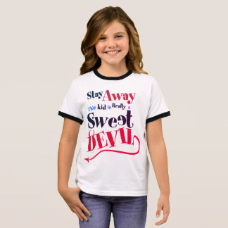 Sweet Devil Ringer T-Shirt