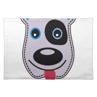 sweet dog vintage design placemat