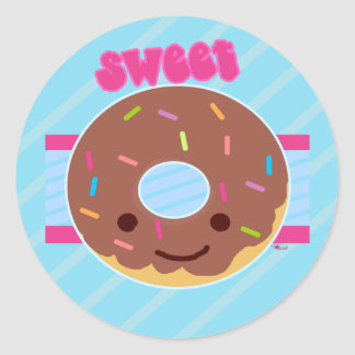 Sweet Donut Sticker